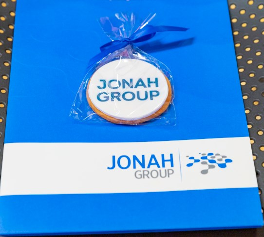Jonah Group Logo on Folder